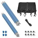 Trampoline Replacement Enclosure Set - Set Includes: Net, Poles & Hardware Only