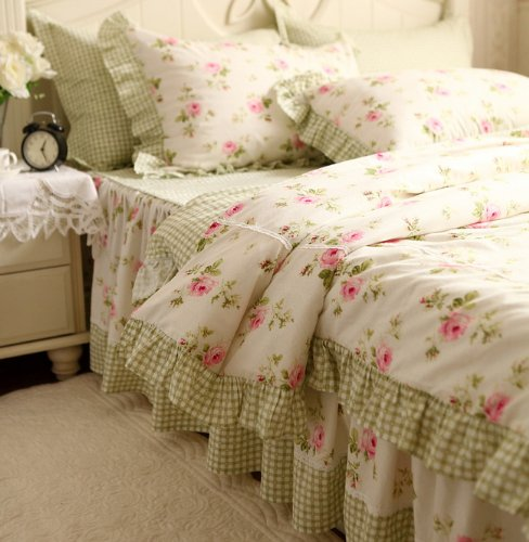 Shabby Chic Pink Bedding 37 back