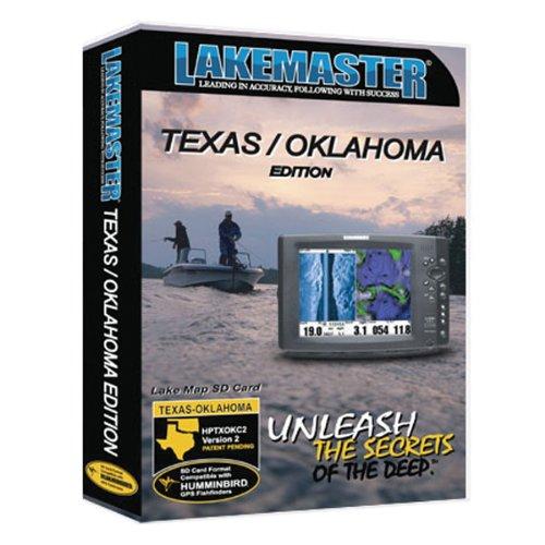 Johnson Outdoors HPTXOKC2 LakeMaster Digital Lake GPS Map Card