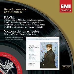 Melodies De Ravel, Debussy Et Duparc - Soriano, Pr