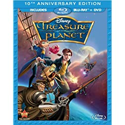 Treasure Planet (10th Anniversary Edition) [Blu-ray]