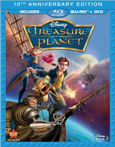 Cover art for  Treasure Planet (10th Anniversary Edition) [Blu-ray]