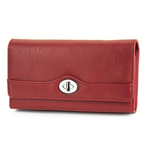 mundi-file-master-femme-rfid-blocage-portefeuille-organiseur-embrayage-avec-pochette-rouge