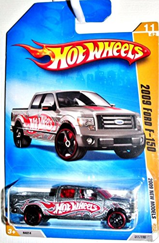 Hot Wheels 2009-011 Ford F-150 New Models GREY 1:64 Scale - 1