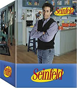 Seinfeld Gift Set (Seasons 1-3 with Original Script, Salt & Pepper Shakers, and Playing Cards) (Bilingual)