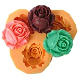 2.6cm flower F0041 Fondant Mold Silicone Sugar mini mold Craft Molds DIY Cake Decorating