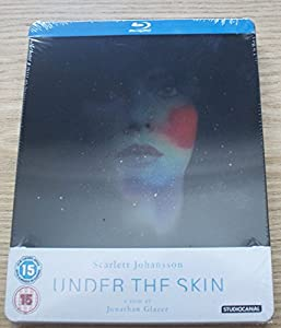 Under The Skin Blu-ray Steelbook. Limited to only 2000 copies!