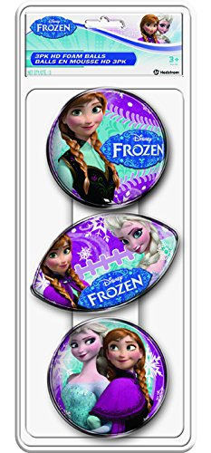 Hedstrom Frozen HD Foam Ball Set (3-Pack)