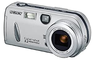 Sony DSCP52 Cyber-shot 3.2MP Digital Camera w/ 2x Optical Zoom