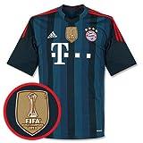 Terza maglia del Bayern Monaco 2013/2014 con stemma vincitore Coppa del Mondo per Club