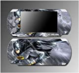 Batman Dark Knight Rises Begins Cartoon Video Game Vinyl Decal Sticker Cover Skin Protector 4 for Sony PSP Slim 3000 3001 3002 3003 3004 Playstation Portable
