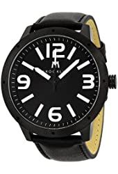 Brooklyn Watch Company De Kalb Black and White Dial Mens Watch 1950BBW