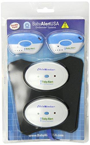babyalertusa Childminder Infant-Toddler Elite Pad Systems System, Blue/White