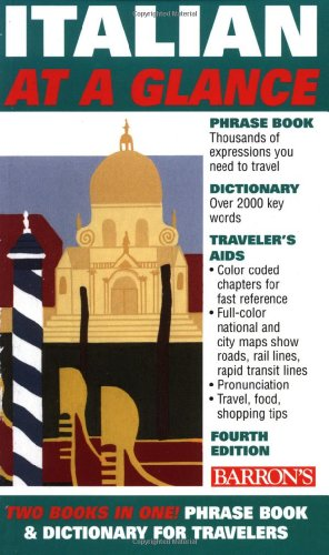 Italian At a Glance (At a Glance Foreign Language Phrasebooks)
