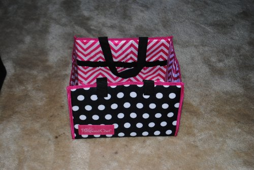 PAMPERED CHEF SMALL DEMO TOTE BAG CONSULTANT