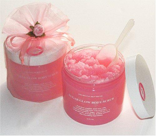 Pink Grapefruit Extract & Foaming Shea Butter Sugar Scrub/ 16 Oz/500 Ml