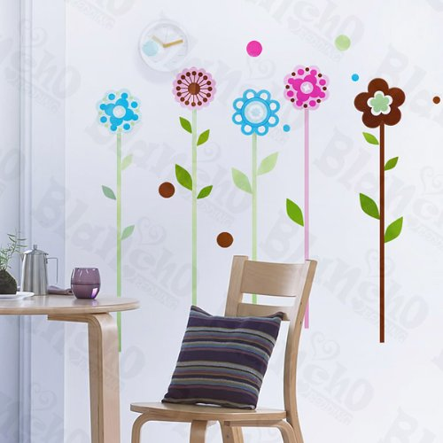 Sweet Flower - Wall Decals Stickers Appliques Home Decor