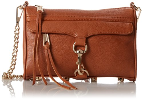 Rebecca Minkoff Mini MAC Convertible Cross-Body Bag, Almond,One Size