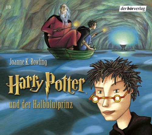 Harry Potter und der Halbblutprinz. Band 6. 22 Audio-CDs