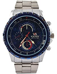 EWWE Analogue Blue Dial Men's Watch - MMF23