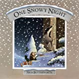 One Snowy Night (Tale from Percy's park) (0001954792) by Nick Butterworth