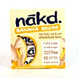 Nakd Banana Bread Bar 4 Pack 120g