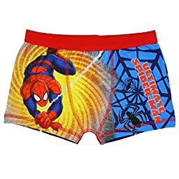 Ultimate Spiderman Boxer Shorts for Boys - 9-10 (140 cms)