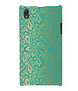 printtech Pattern Floral Back Case Cover for Sony Xperia Z1::Sony Xperia Z1 L39h