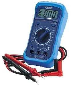 Draper 60792 Multimètre numérique Rétroéclairage (Import Grande Bretagne)