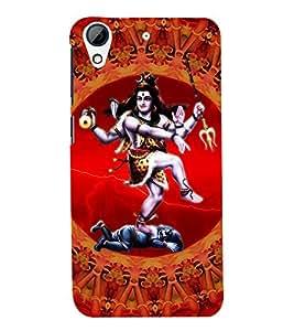 Fuson Lord Shiva Case Cover for HTC Desire728