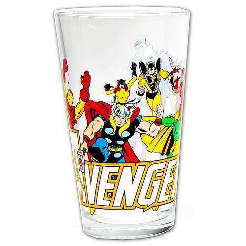 Avengers Glass Toon Tumbler