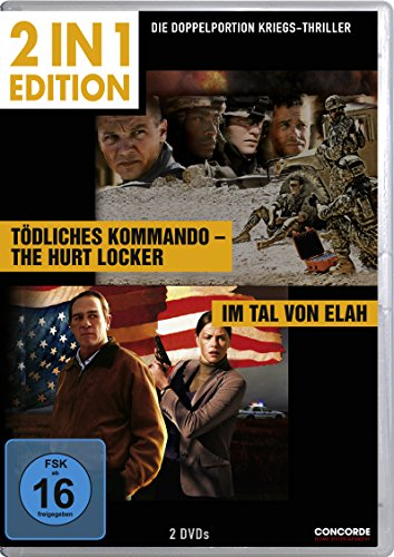 Tödliches Kommando - The Hurt Locker / Im Tal von Elah (2 in 1 Edition, 2 Discs)