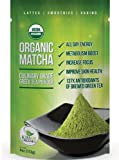Matcha Green Tea Powder - ORGANIC - Amazon Exclusive - Green Tea Lattes - Smoothies - Matcha Baking - 4oz - All Day Energy - Superior Antioxidant Content - Improved Hair & Skin Health