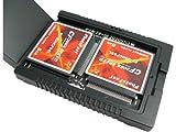 PhotoFast CR-7500 CFカードで高速SSD化! 2.5インチSATA【CFカード2枚挿し】