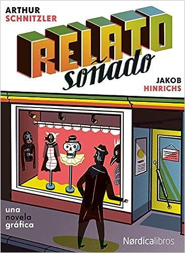 Relato Soñado,Jacob Hinrichs,Nórdica Libros  tienda de comics en México distrito federal, venta de comics en México df