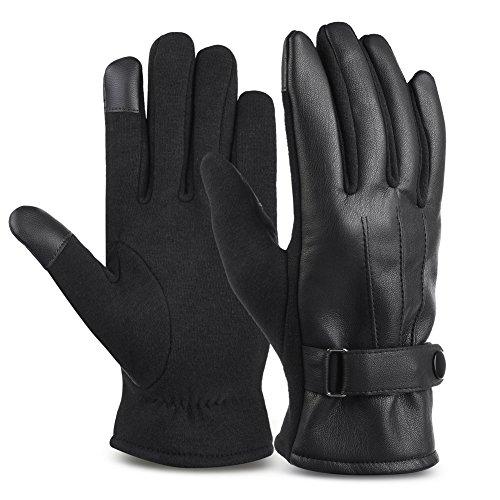 vbiger-guanti-uomo-invernali-in-pelle-pu-touchscreen-outdoor-sports-taglia-m-nero-2