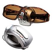 Swiss Eye Sunglasses Car Holder Sun Screen Clip Silver: Amazon.co.uk: Sports & Outdoors