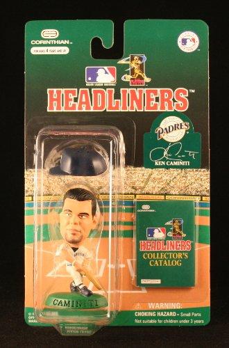 KEN CAMINITI / SAN DIEGO PADRES * 3 INCH * 1996 MLB Headliners Baseball Collector Figure