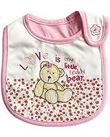 Lovely Cute Cartoon Pattern Toddler Baby Waterproof Saliva Towel Baby Bib (Bear Pattern)