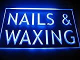 C B Signs Beauty Care Nails & Waxing LED Sign Neon Light Sign Display
