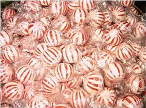 Peppermint Round Mints Mints (5 Pounds)