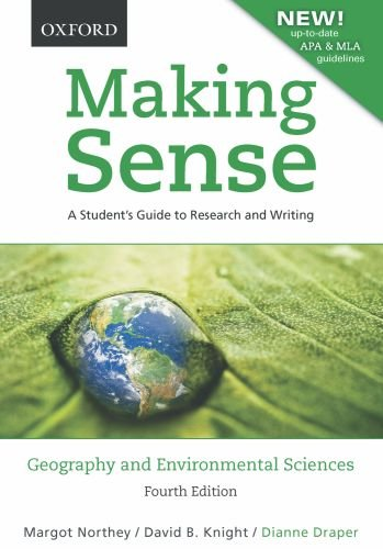 Making Sense in Geography and Environmental Sciences: A...