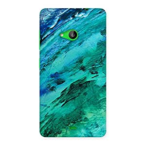 Paint Texture Back Case Cover for Lumia 535