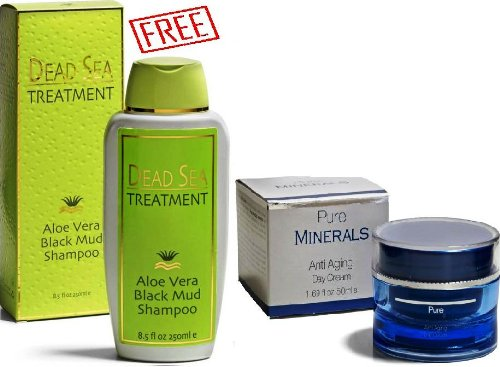 Spa Cosmetics Sale Spa Cosmetics Anti Aging Sale Anti Aging Day Cream Moisturizing & Brightening Vitamin C Advanced Formula + Dead Sea Treatment Aloe Vera Black Mud Shampoo 250 Ml For Free!!!