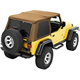 Bestop® 56820-37 Spice Trektop NX Complete Frameless Replacement Soft Top with Sunrider® Sunroof Feature