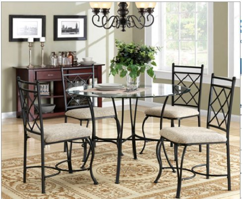 Glass Dining Chairs 6162