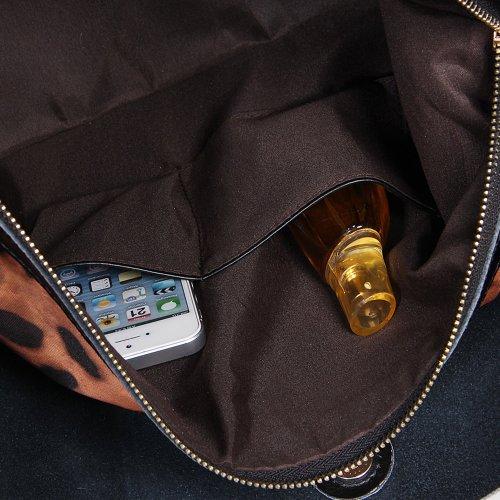 Fineplus femmes en cuir véritable Vintage Versa Portable-Sac bandoulière-Femme