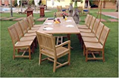 Valencia Dining Set with Rio Alto Chairs by Anderson Teak
