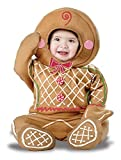 California Costumes Baby-Boys Infant Gingerbread Man, Brown, Medium (12-18 Months)