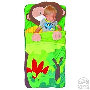 Amazon.com : Northpoint Kids Animal Fun Sleeping Bag & Pillow Set - Monkey (Monkey) : Sports ...